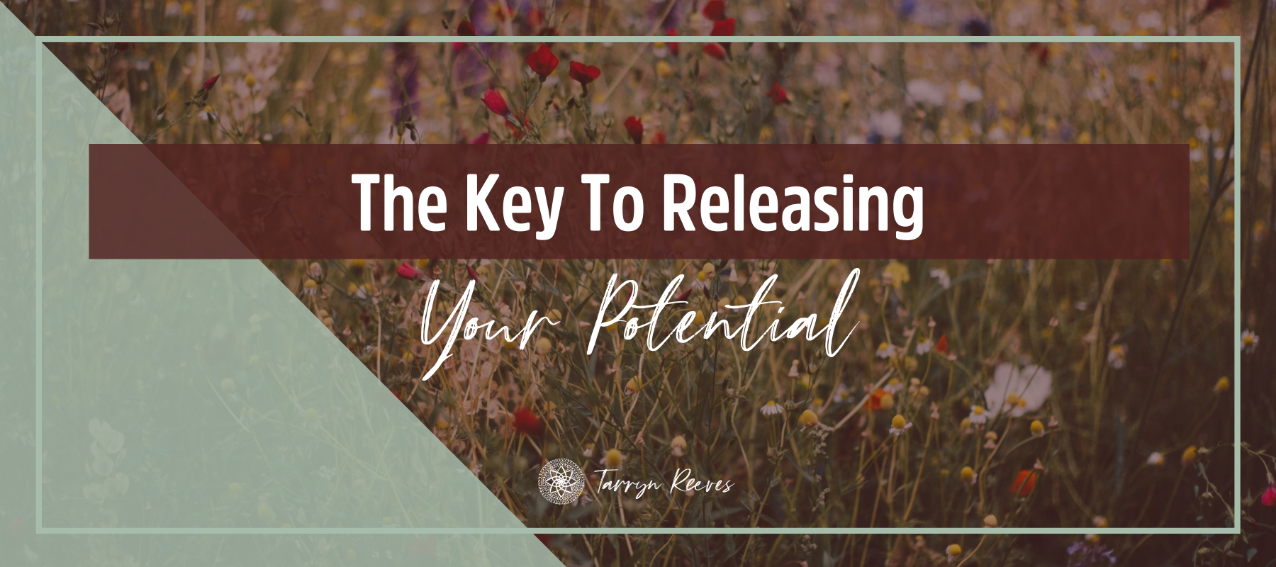 The Key to Releasing Your Potential