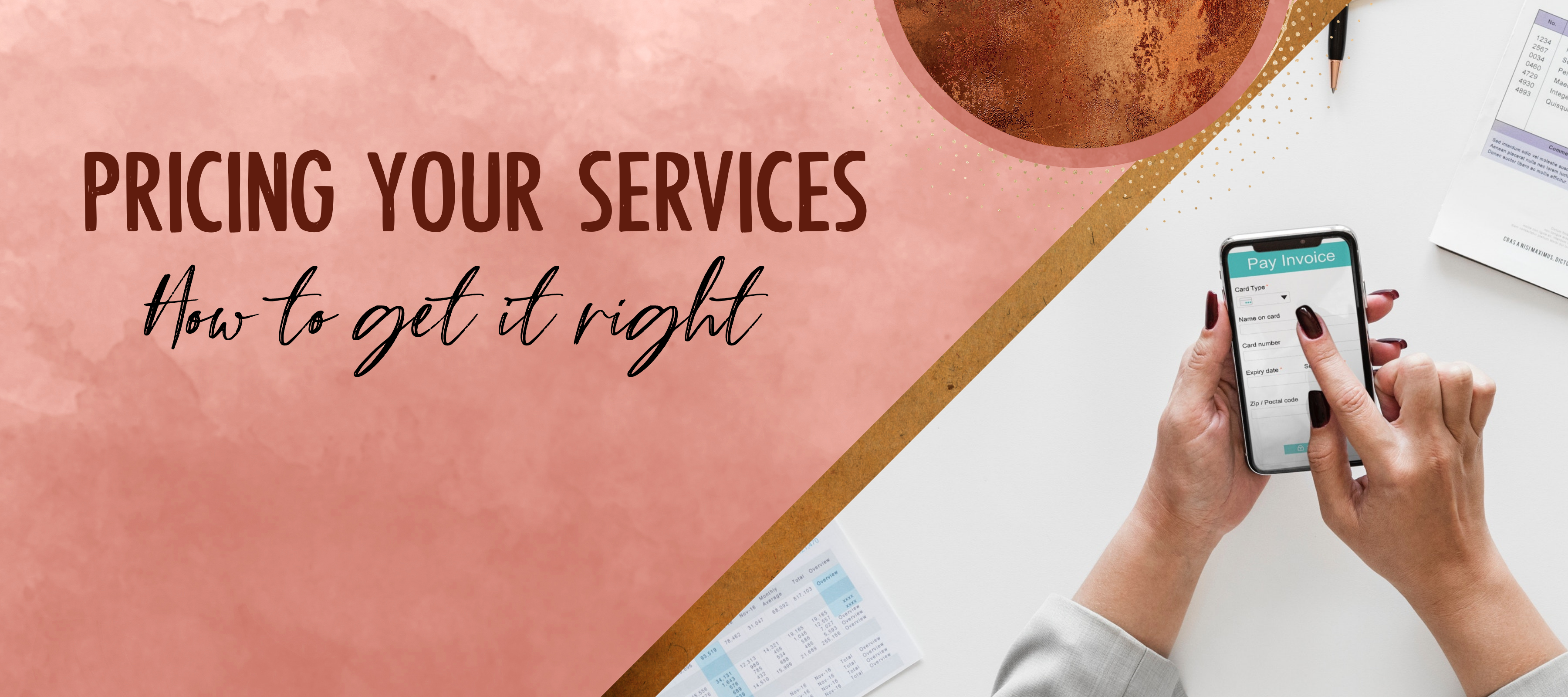 Pricing your Services – How to get it right
